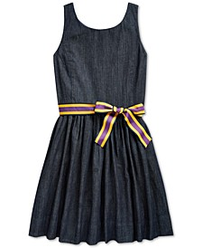 Big Girls Fit and Flare Dress