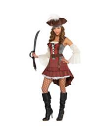 Amscan Castaway Pirate Adult Women's Costume