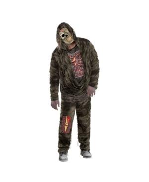 Zombie Creeper Adult Men's Costume