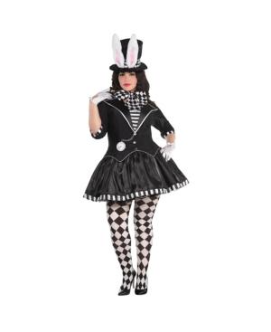 Dark Mad Hatter Adult Women's Costume