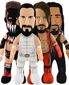 Bleacher Creatures Dynamic Duo - WWE A.J. Styles and Finn Balor Plush Bundle