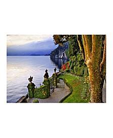 """- Lake Como Italy Canvas Art, 36"""" x 27"""""""