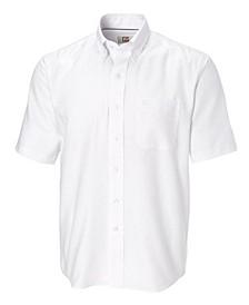 Men's Big & Tall Short Sleeves Epic Easy Care Nailshead Shirt