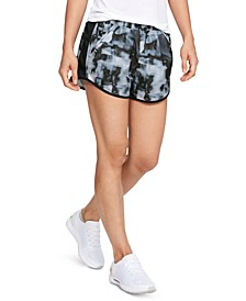 Fly-By Printed Running Shorts