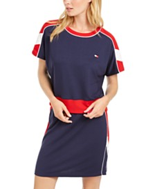 Tommy Hilfiger Sport Dolman-Sleeve Cropped Sweatshirt