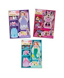 Disney Magnetic Dress Up Bundle 2