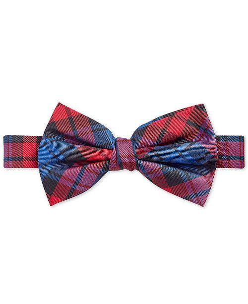 Lauren Ralph Lauren Big Boys Tartan Pre-Tied Silk Bow Tie