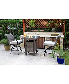 Cane Estates Outdoor Fire Table Collection