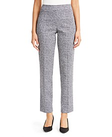 Petite Straight-Leg Pull-On Pants, Created for Macy's