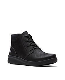 CloudSteppers Women's Sillian 2.0 Way Lace-Up Booties