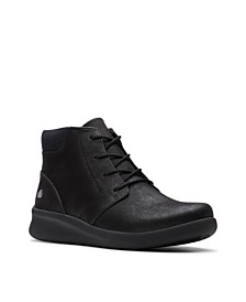 Clarks CloudSteppers Women's Sillian 2.0 Way Lace-Up Booties