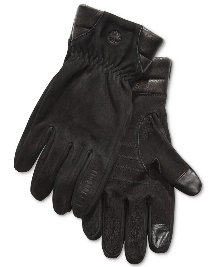 Timberland - Men's Nubuck Leather Boot Gloves