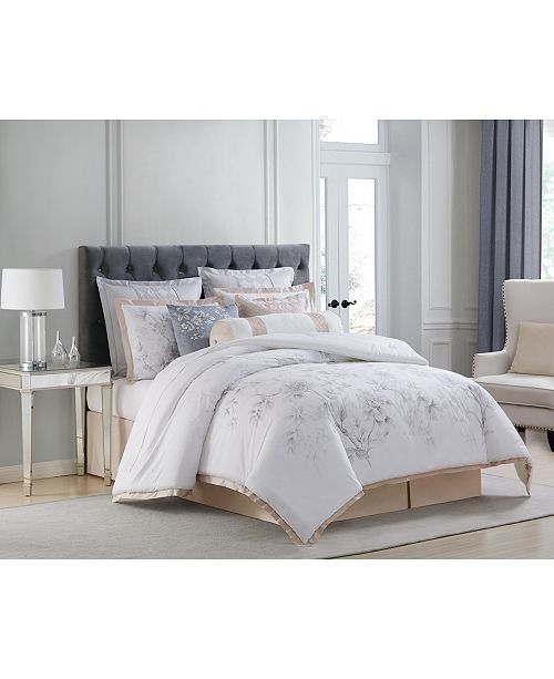 Charisma Riva Cotton Printed Queen 4 Piece Duvet Cover Set
