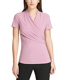 Petite Side-Ruched Top