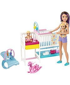 Skipper Babysitters Inc Nap 'N' Nurture Nursery Dolls And Playset