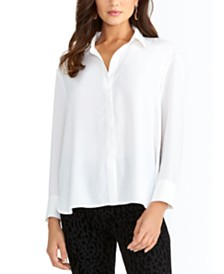 RACHEL Rachel Roy Button-Front Shirt