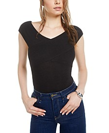 Crossover Bodysuit, Created for Macy's