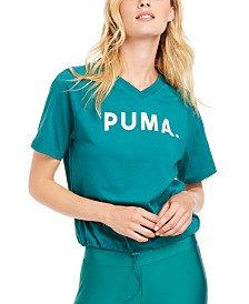 Puma Chase Cotton V-Neck T-Shirt