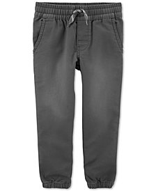 Carter's Toddler Boys Pull-On Knit-Like Jogger Pants