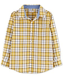 Little & Big Boys Cotton Plaid Shirt