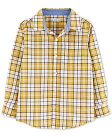 Carter's Little & Big Boys Cotton Plaid Shirt