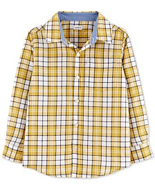Carter's Little & Big Boys Cotton Plaid Shirt