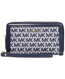 Michael Michael Kors Jet Set Flat Multi-Function Phone Case