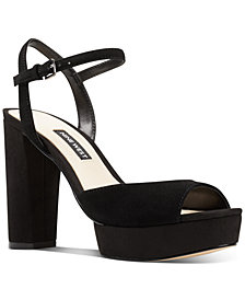 Nine West Gail Platform Dress Sandals