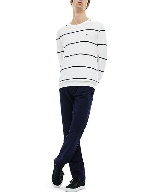 Lacoste Men's Slim-Fit Stretch Chino Pants