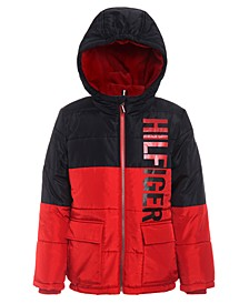 Little Boys Jack Hooded Colorblocked Jacket