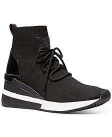 Skyler Wedge Sneakers