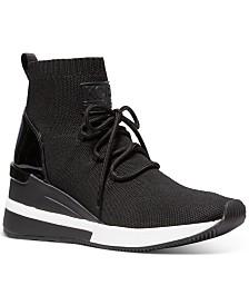 Michael Michael Kors Skyler Wedge Sneakers