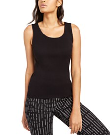 Alfani Sleeveless Scoop-Neck Sweater, Created for Macy's