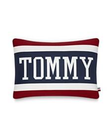 "Tommy Hilfiger Varsity 15"" X 20"" Decorative Pillow"