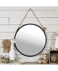Metal Round Hanging Mirror