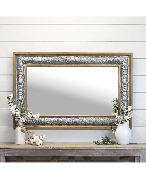 "VIP Home & Garden 47"" Wood Mirror"