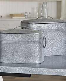 2-Piece Metal Canisters