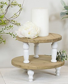Wood Risers, Set of 2
