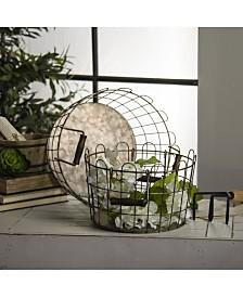 VIP Home & Garden 2-Piece Metal Wire Buckets