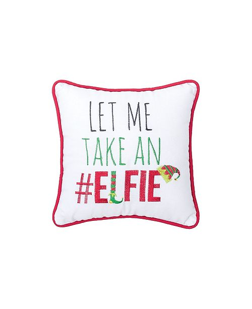 C&F Home Elfie Embroidered Pillow