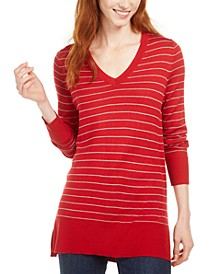 Skinny-Striped Pullover Sweater, Created for Macy's