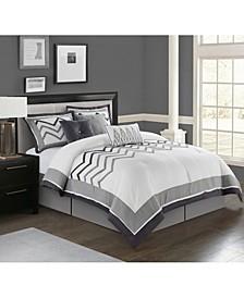 Linnet 7-Pc. California King Comforter Set