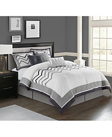 Linnet 7-Pc. California King Comforter Set