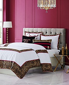 Regent Leopard 3-Piece King Comforter Set
