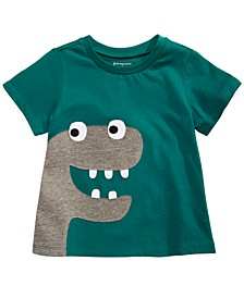 Baby Boys Cotton Dinosaur T-Shirt, Created for Macy's