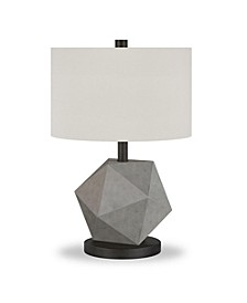 Kore Table Lamp In Concrete