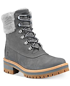 Women's Courmayeur Valley Shearling Leather Boots