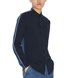 A|X Armani Exchange Men's Side Stripe Shirt