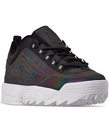 Fila Women's Disruptor II Phase Shift Casual Athletic Sneakers from Finish Line