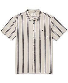 Men's Sundays Stretch Wave Stripe Jacquard Shirt